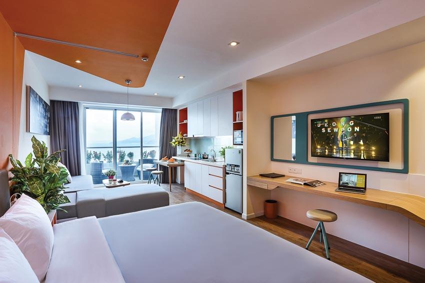 căn hộ khách sạn Ariyana Smartcondotel Nha Trang