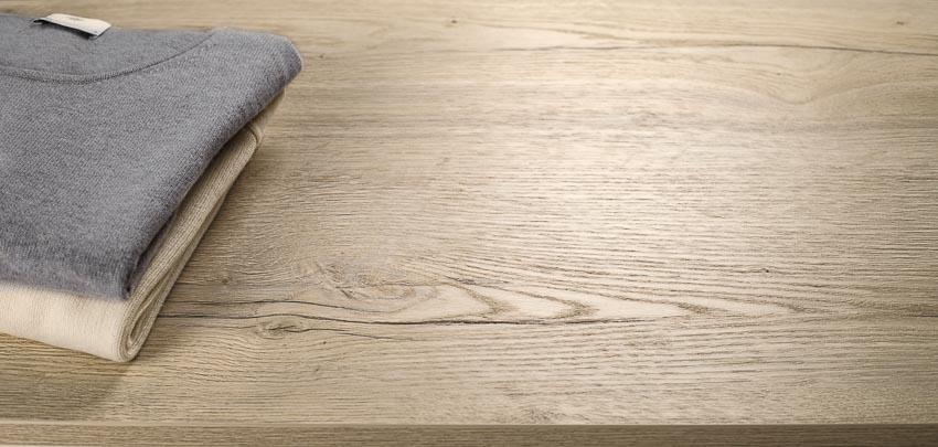 Bề mặt Feelwood tái hiện những tính chất thị giác, xúc giác và thẩm mỹ của gỗ một cách xuất sắc