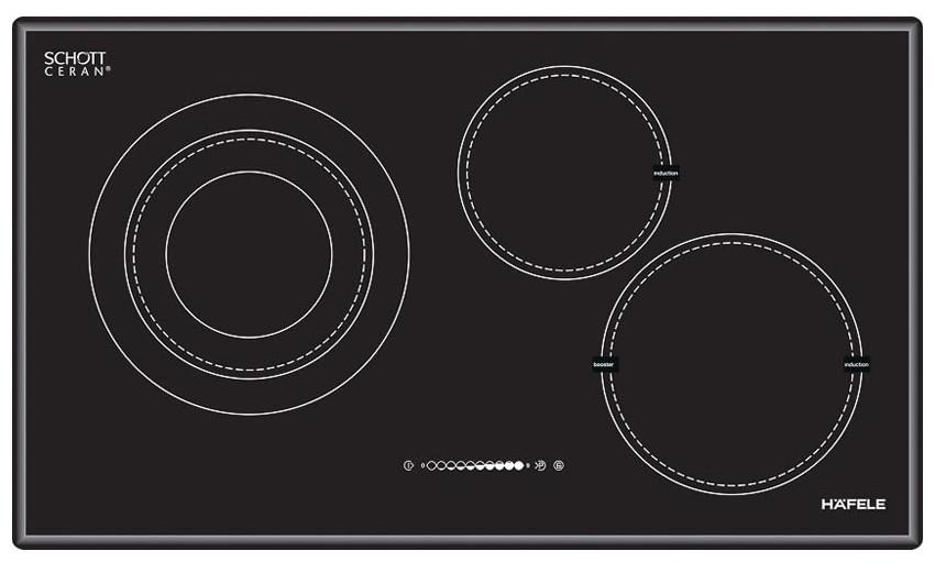 Bếp điện kết hợp từ