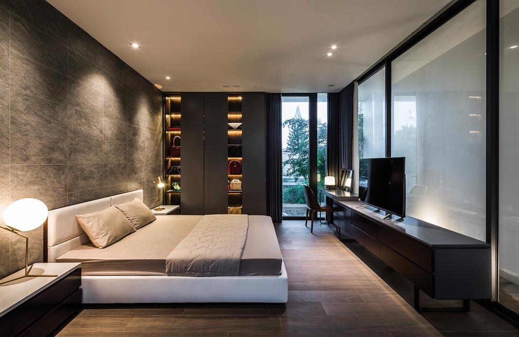 Các phòng ngủ đều tiếp cận với thiên nhiên, có thiết kế theo tinh thần tối giản nhưng vẫn đầy đủ tiện nghi, đậm tính thư giãn 3