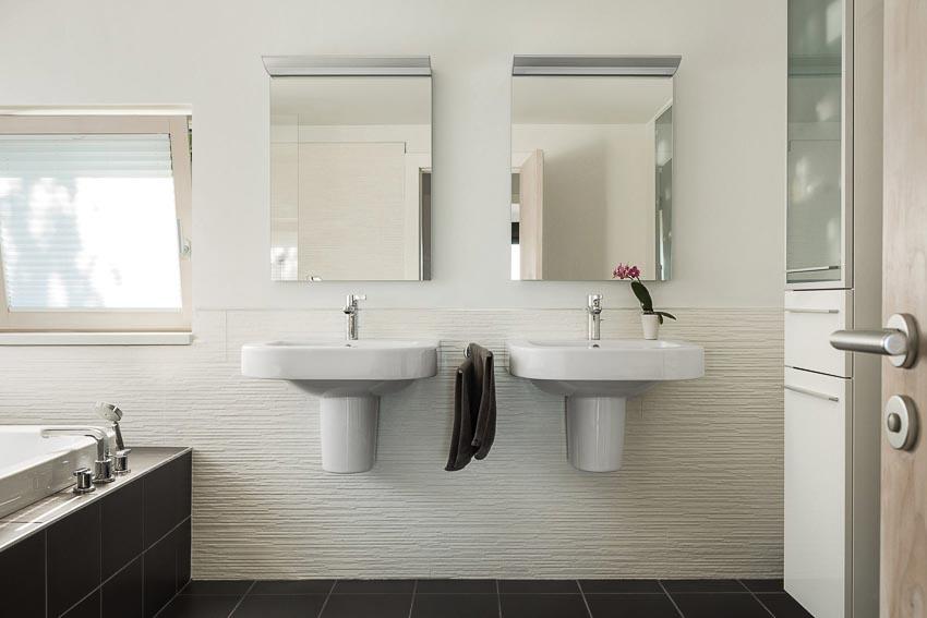 Khu tắm - vệ sinh của phòng ngủ master 2