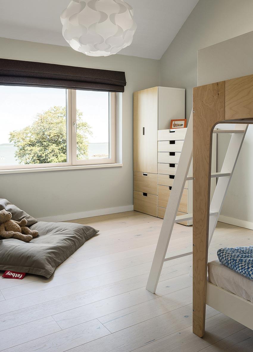 Một phòng ngủ cho khách sẽ trở thành phòng của em bé