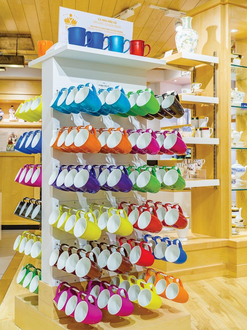 RAK Porcelain đa dạng từ sản phẩm và kiểu dáng được sản xuất từ vật liệu sứ cao cấp nhất của CHLB Đức và Vương quốc Anh