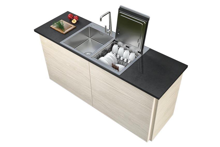 Chậu rửa kết hợp máy rửa chén Häfele HDW-SD90A, mã 539.20.530