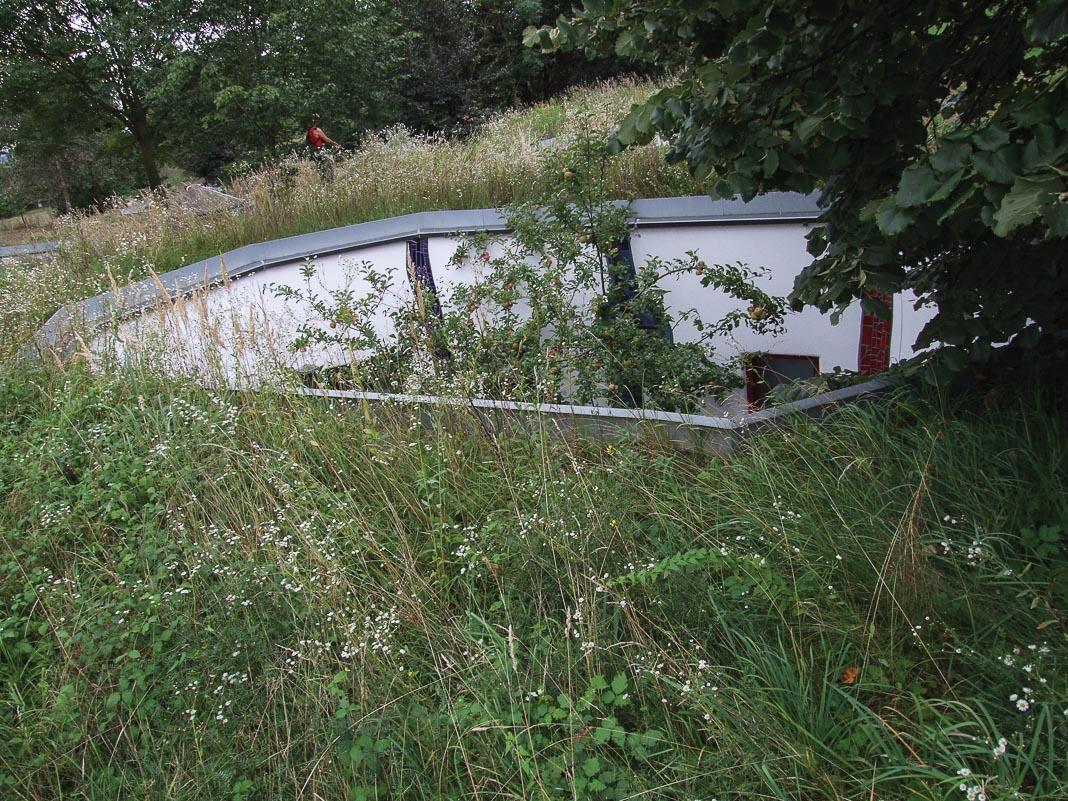 Một căn hộ dưới lòng đất của Waldhofhäuser (Nhà với sân giữa rừng)