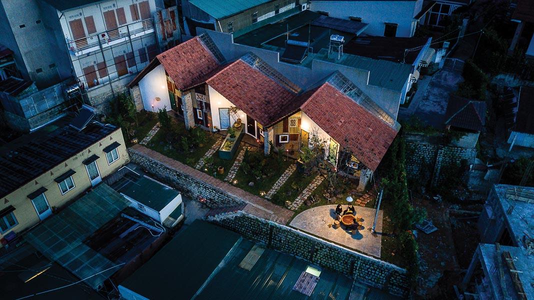 Hình ảnh tổng thể công trình với những góc nhìn khác nhau, từ trên cao và ánh sáng về đêm 1