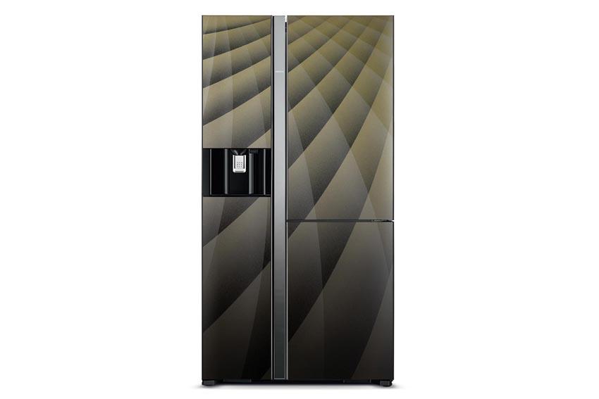 Tủ lạnh Hitachi Side by Side cao cấp R-M700AGPGV4X