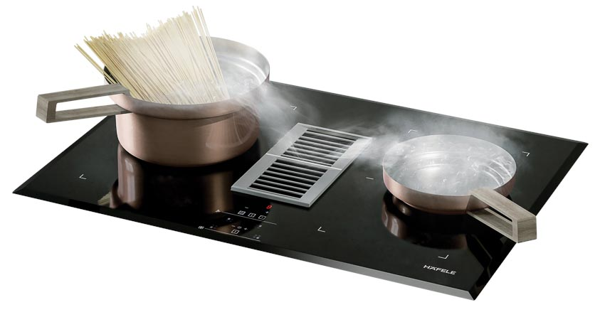 Bếp từ kết hợp hút mùi Häfele mã 539.66.822