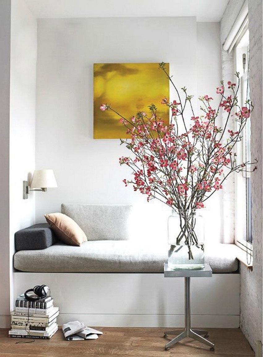 Hoa trong phòng khách 7