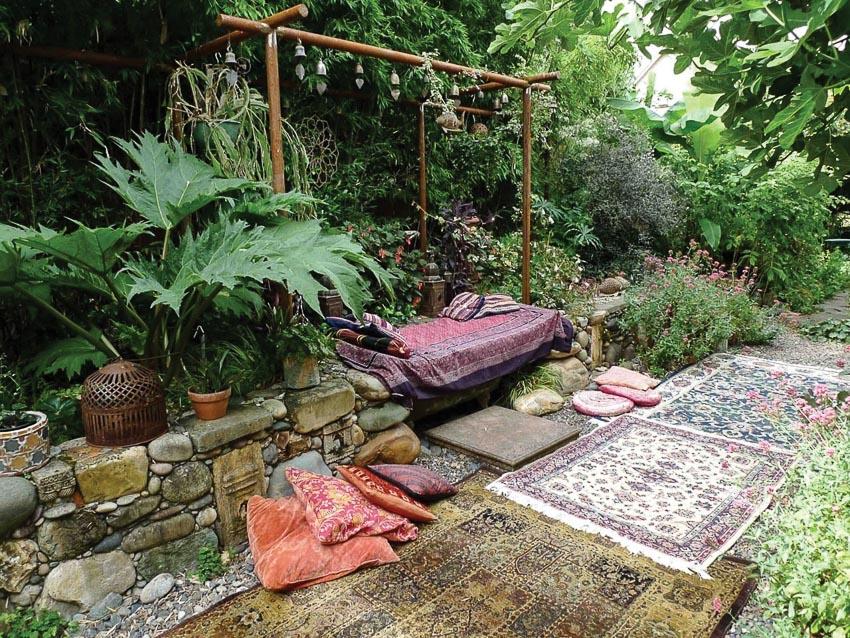 Giấc ngủ trưa mát mẻ trong vườn 12