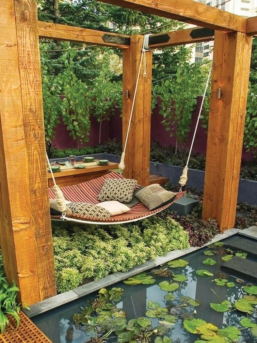 Giấc ngủ trưa mát mẻ trong vườn 7