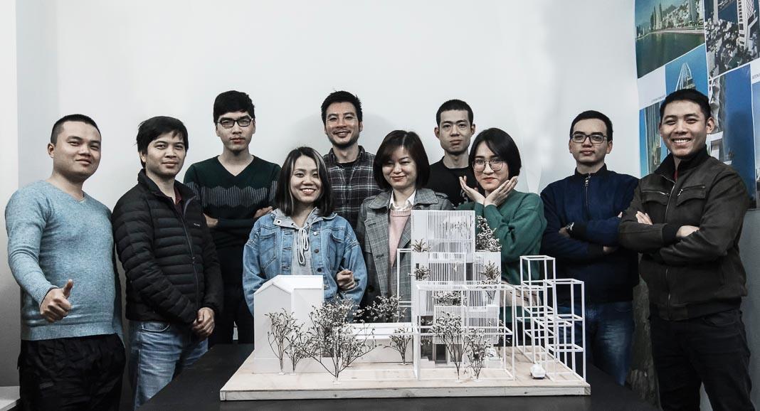 Chân dung KTS Hồ Mộng Long và tập thể HML Architecture 1