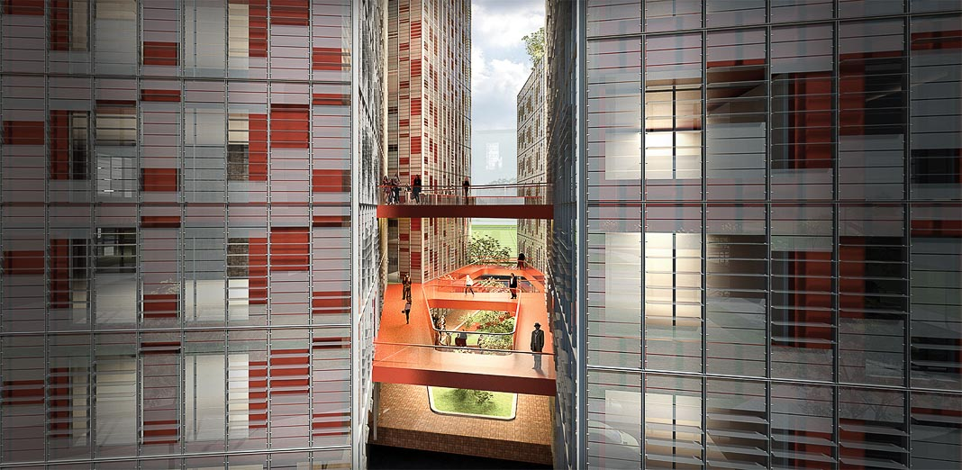 Share Tower - dự án căn hộ và văn phòng cho thuê ở Hà Nội, cũng dựa trên triết lý Cho và Nhận, đang được triển khai 3