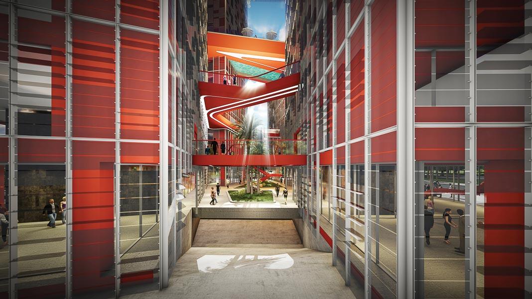 Share Tower - dự án căn hộ và văn phòng cho thuê ở Hà Nội, cũng dựa trên triết lý Cho và Nhận, đang được triển khai 4