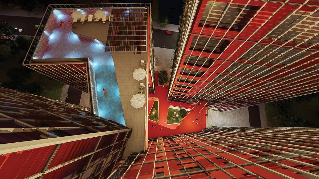 Share Tower - dự án căn hộ và văn phòng cho thuê ở Hà Nội, cũng dựa trên triết lý Cho và Nhận, đang được triển khai 5