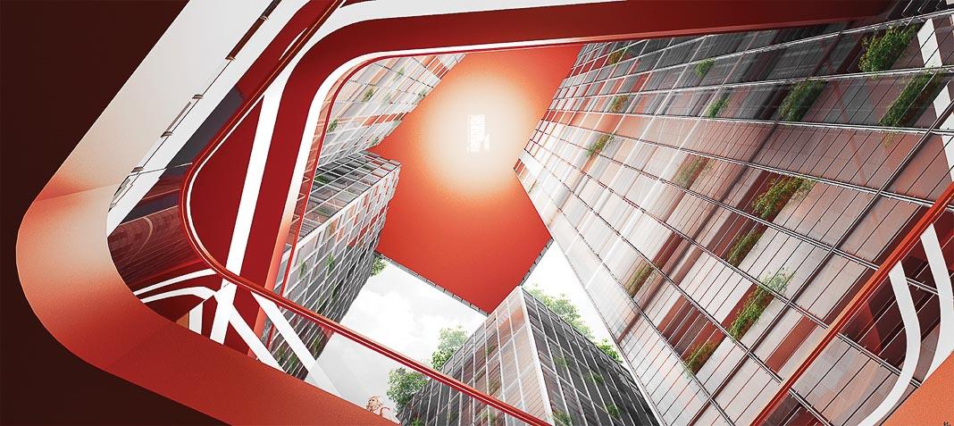 Share Tower - dự án căn hộ và văn phòng cho thuê ở Hà Nội, cũng dựa trên triết lý Cho và Nhận, đang được triển khai 6