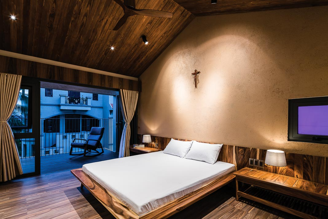 Phòng ngủ chính với các góc nhìn khác nhau 1