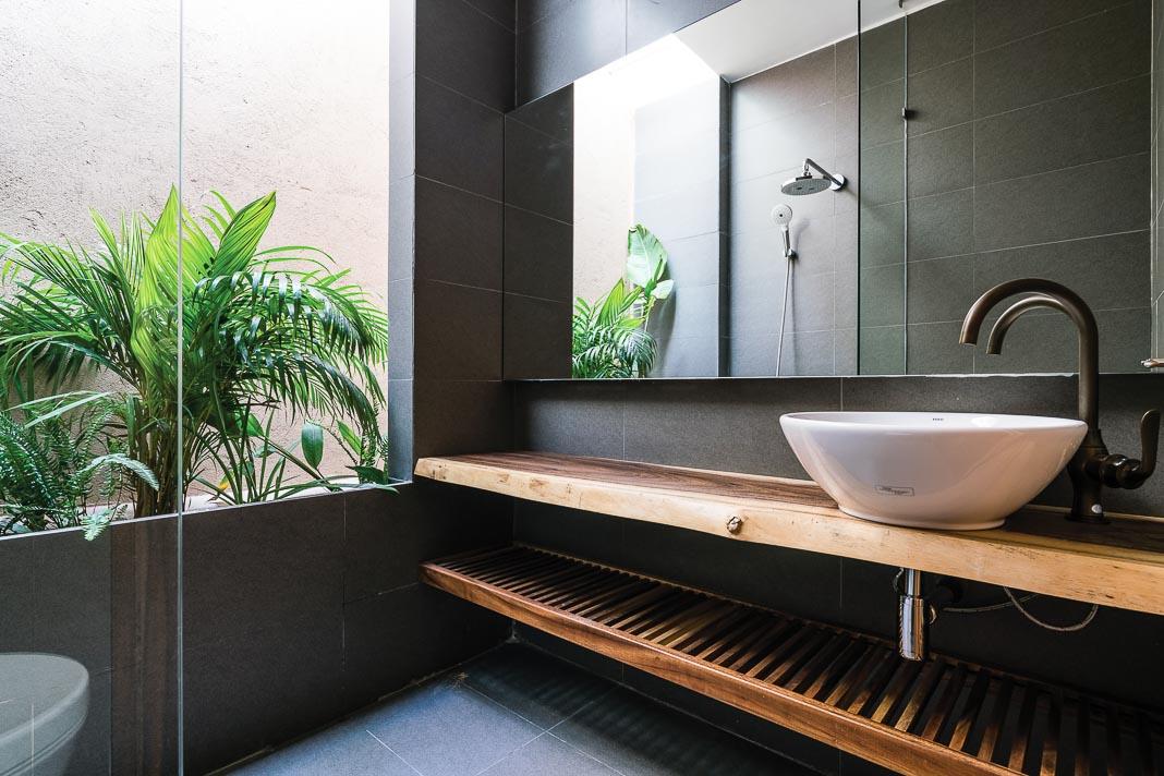 Các khối tắm và vệ sinh cũng chan hòa thiên nhiên 1