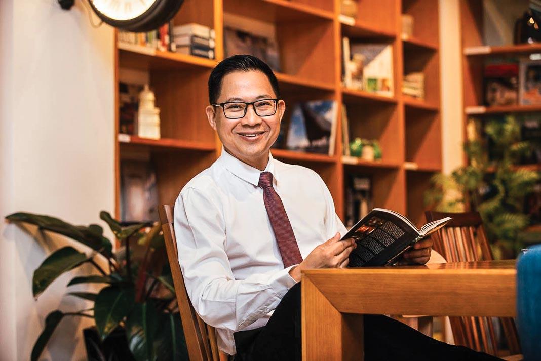 Ông Lý Quí Trung, Tổng giám đốc Công ty cổ phần Nội thất AKA