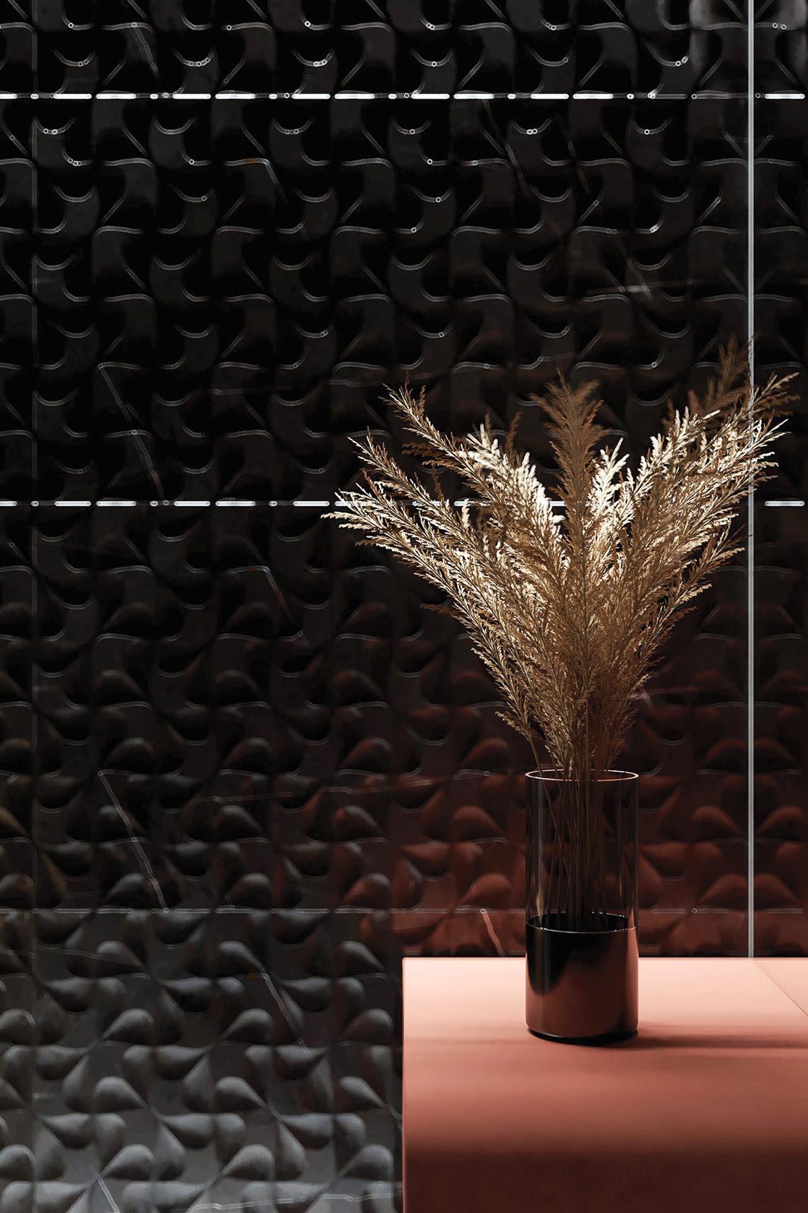 Thiết kế nội thất hiện đại với tông màu đỏ và xám theo phong cách Nhật Bản-37