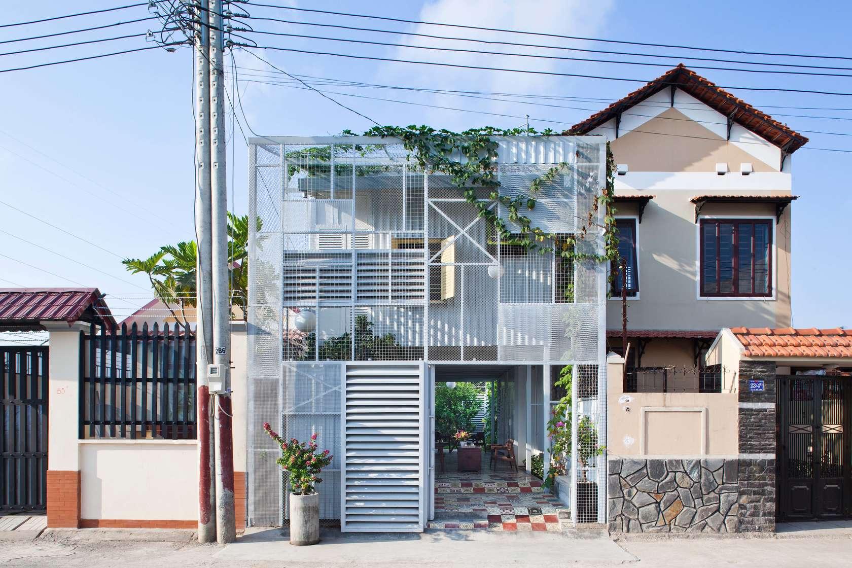 The Nest – căn nhà do Nguyễn Hòa Hiệp thiết kế ở Thuận An, Bình Dương